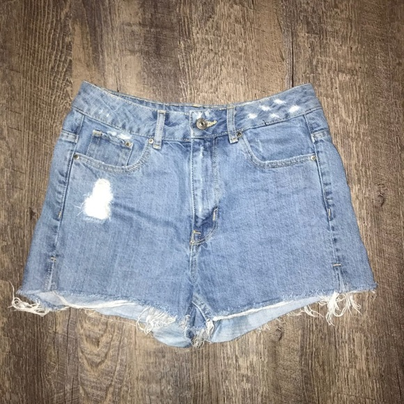 Divided Pants - Divided Women's Distressed Shorts